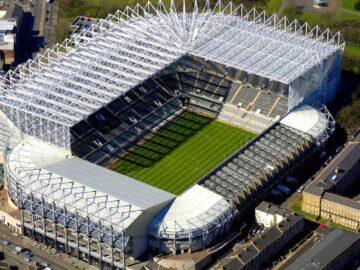 Intip Kemegahan Stadion St. James Park, Rahasia Dibalik Keuntungan Newcastle United 12