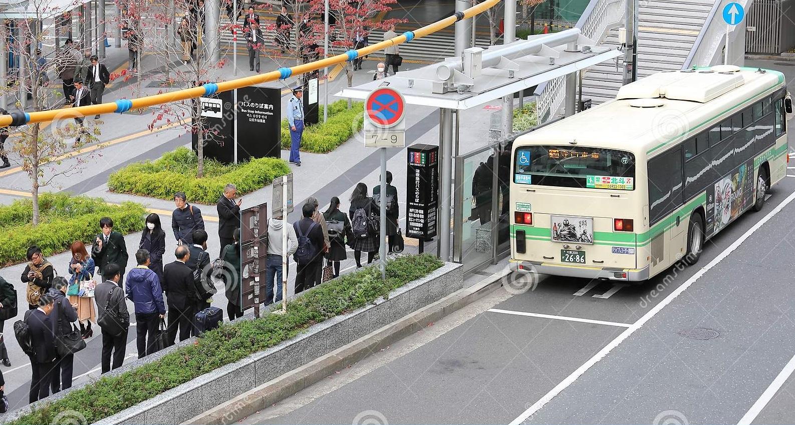 Inilah Fakta Menarik Bus di Jepang 7