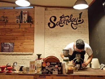 Seduh Pilihan Biji Kopi Nusantara di Saturday Coffee 6