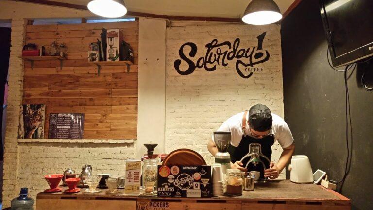 Seduh Pilihan Biji Kopi Nusantara di Saturday Coffee 1
