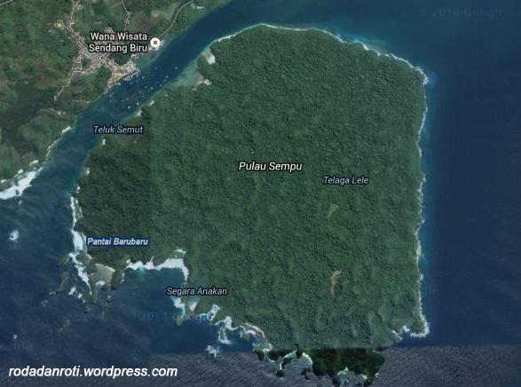 Peta Pulau Sempu