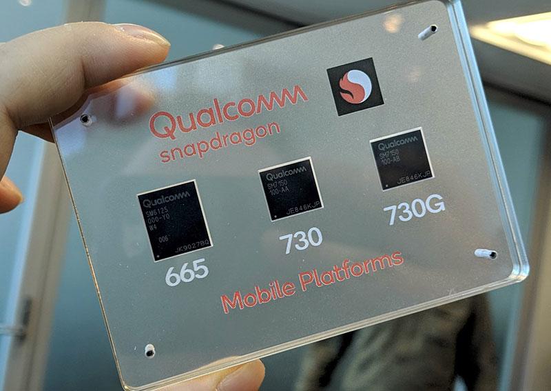 Prosesor Snapdragon kelas mid-range