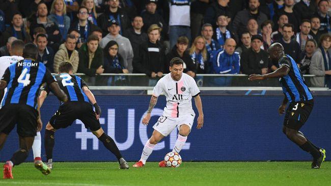 PSG Ditahan Imbang Club Brugge 4