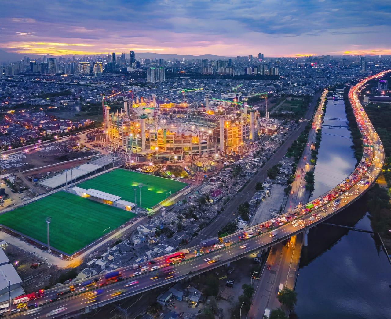 "Intip ""Jakarta Internasional Stadium"" atau JIS 8"