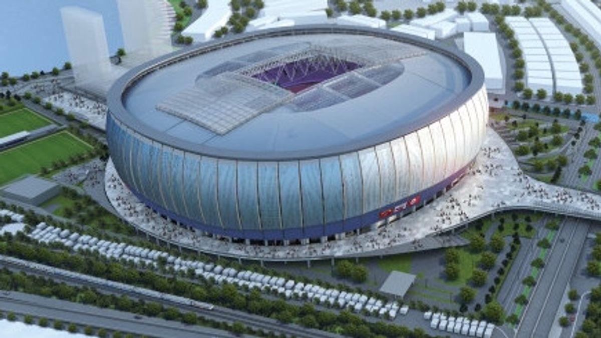 "Intip ""Jakarta Internasional Stadium"" atau JIS 6"