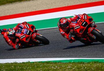 Dua Pembalap Tim Ducati Lenovo Team MotoGP 2021 5