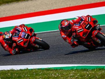 Dua Pembalap Tim Ducati Lenovo Team MotoGP 2021 7
