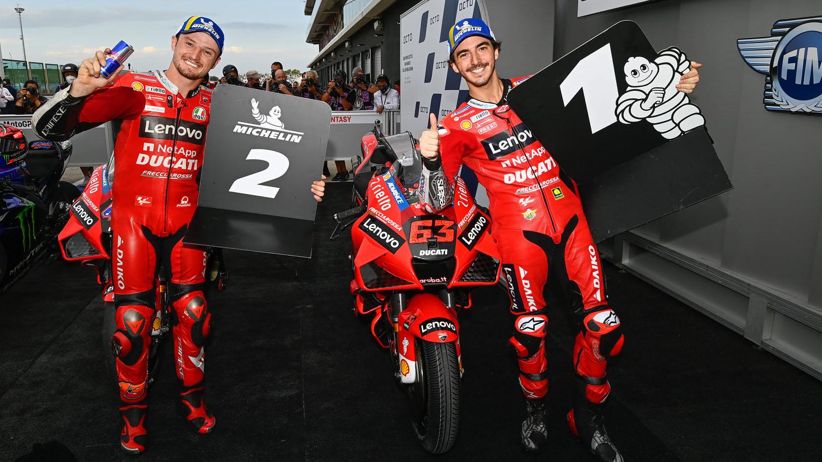 Dua Pembalap Tim Ducati Lenovo Team MotoGP 2021 3