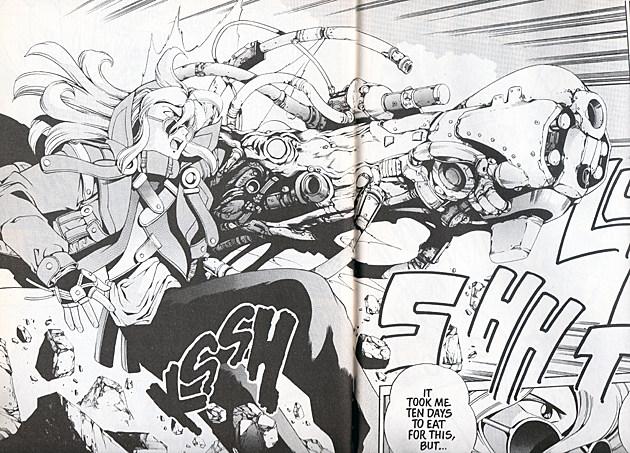 5 Rekomendasi Action Manga dengan Cerita yang Pendek 7