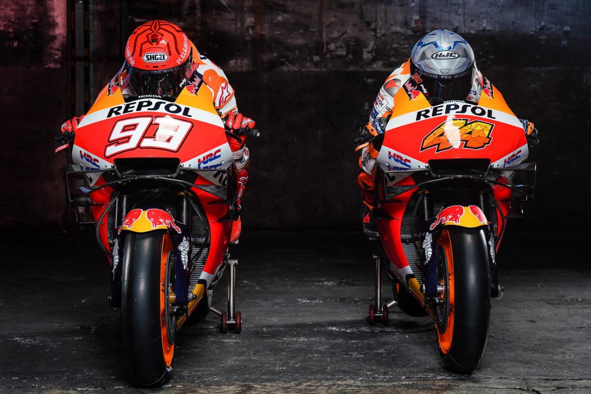 Dua Pembalap Repsol Honda MotoGP 2021 3