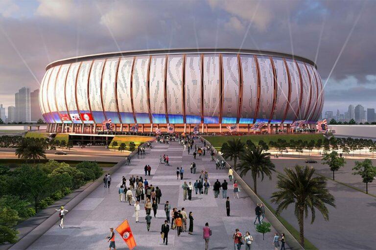 "Intip ""Jakarta Internasional Stadium"" atau JIS 1"