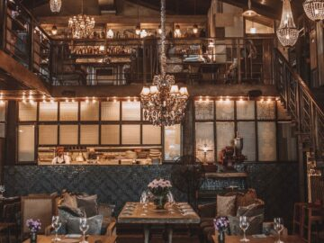 Desain dalam Pembuatan Vintage Restaurant 4