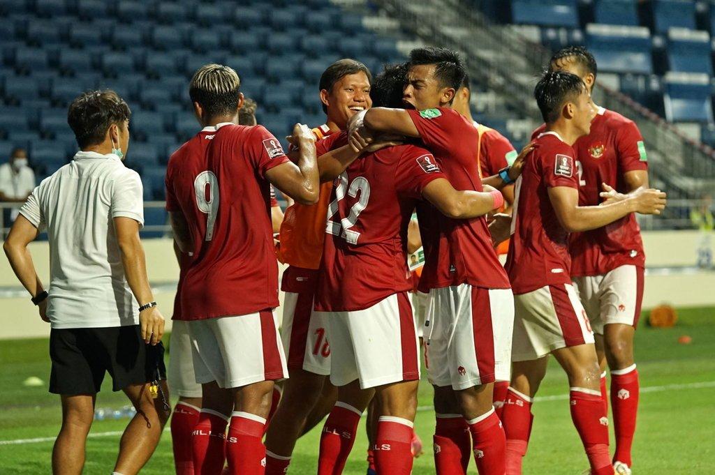Pertandingan Leg 1 Indonesia vs Taipei