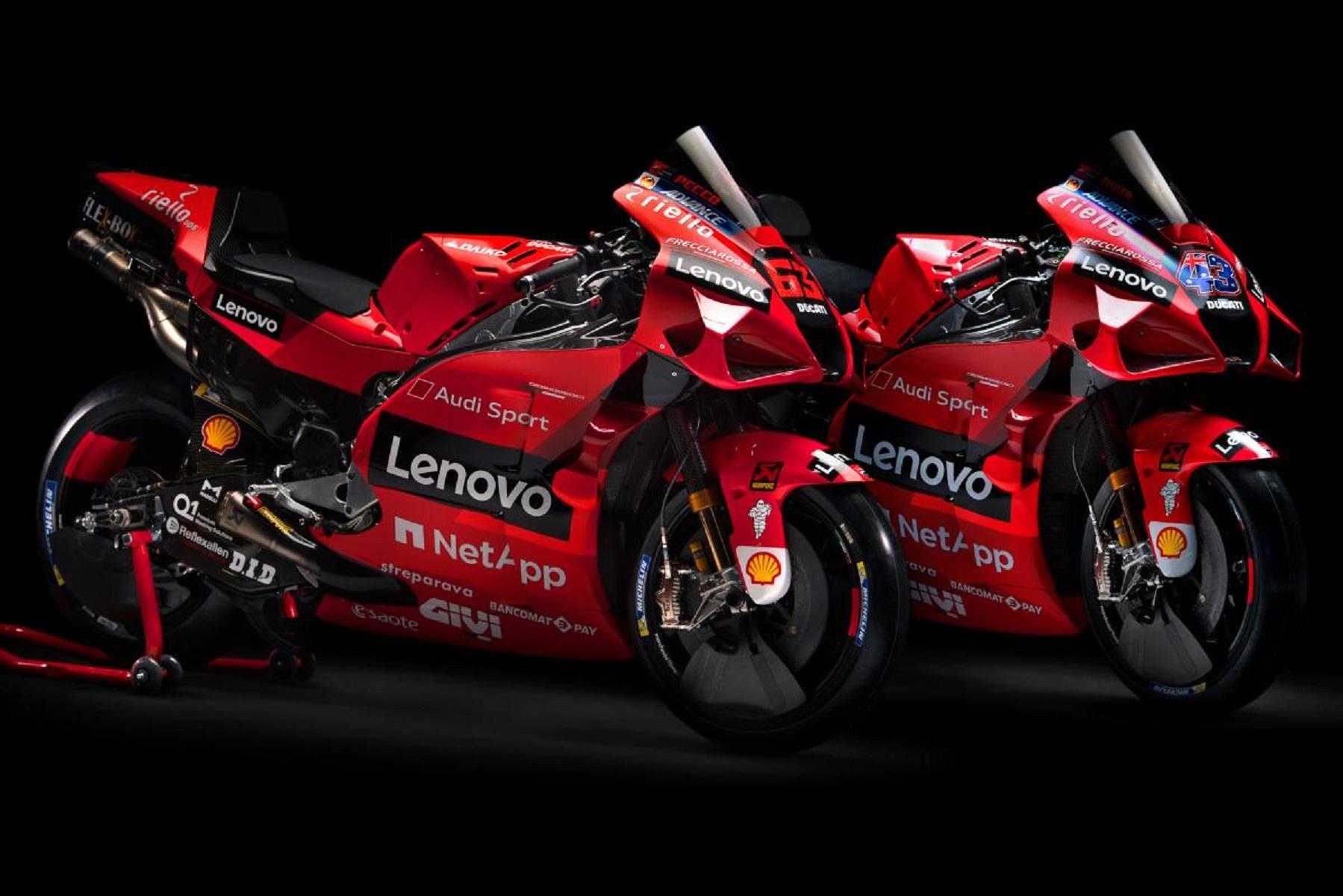 Dua Pembalap Tim Ducati Lenovo Team MotoGP 2021 4