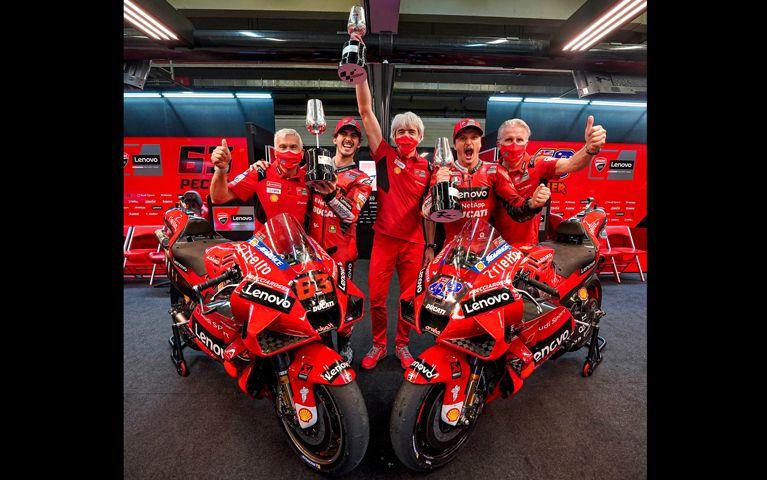 Dua Pembalap Tim Ducati Lenovo Team MotoGP 2021 8