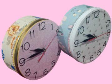 5 Langkah Mudah Membuat Jam Unik dari Kaleng Bekas 10