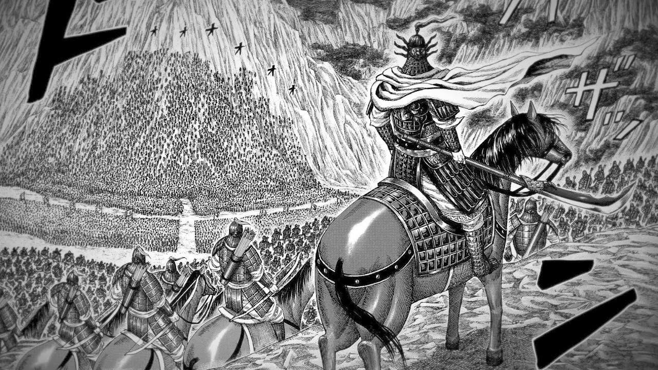 Ou Sen dan pasukannya dalam menghadapi gempuran dari pasukan 6 Kerajaan