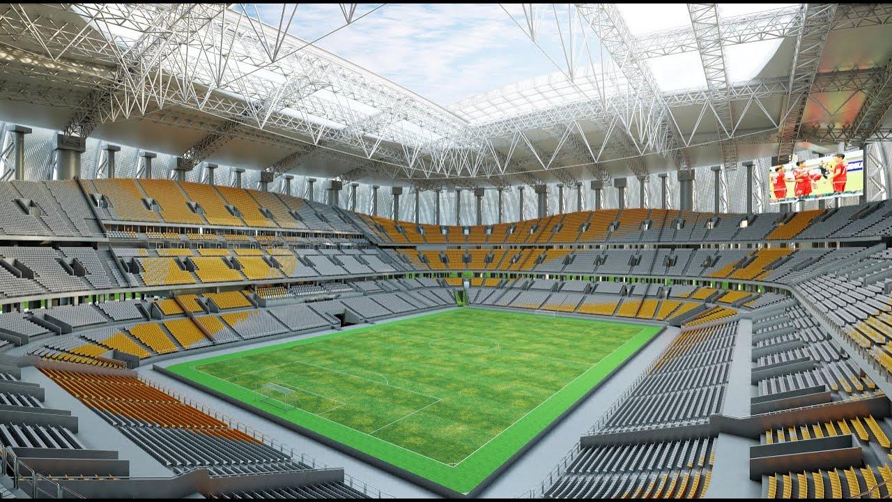 "Intip ""Jakarta Internasional Stadium"" atau JIS 4"