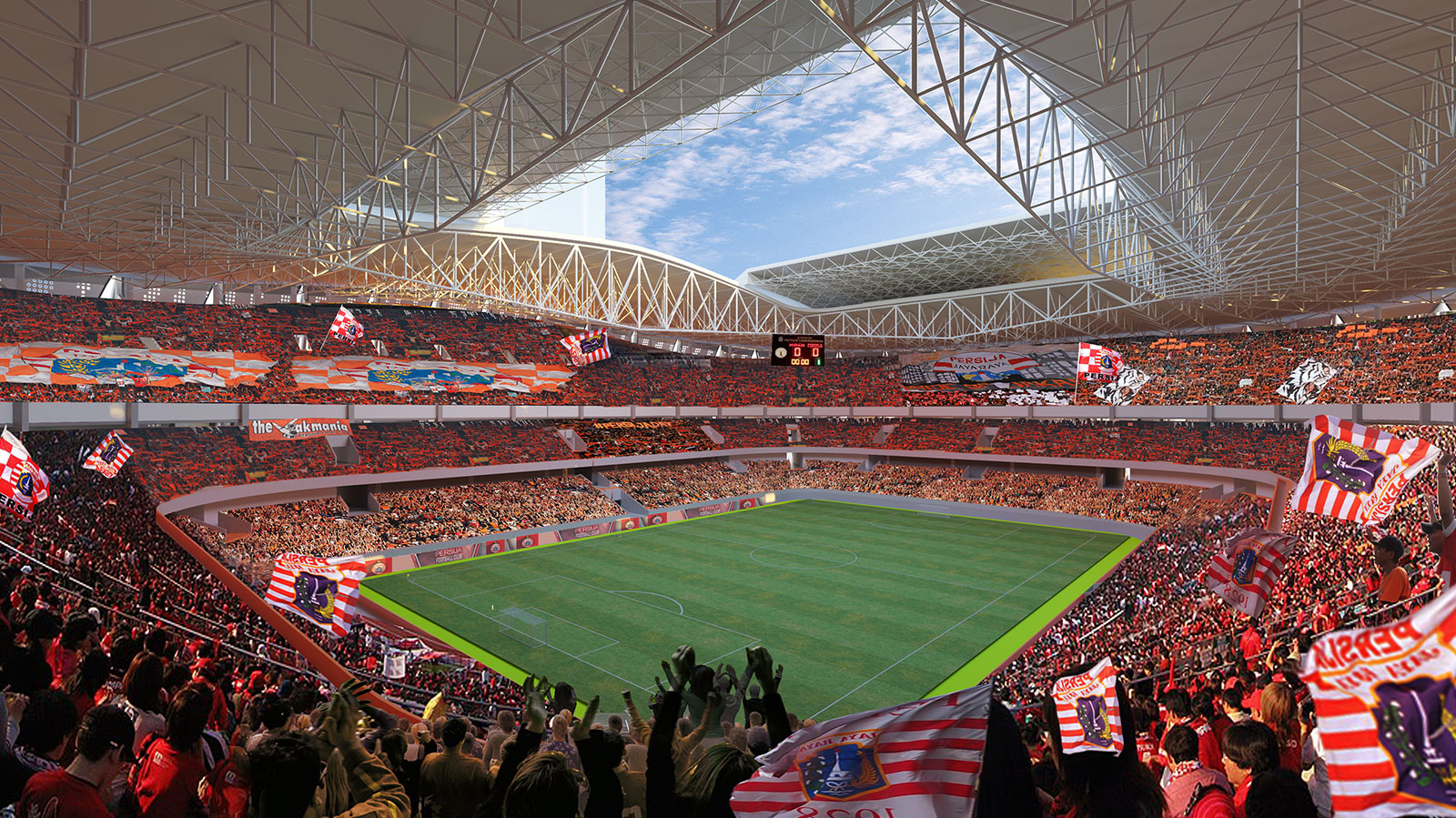 "Intip ""Jakarta Internasional Stadium"" atau JIS 5"