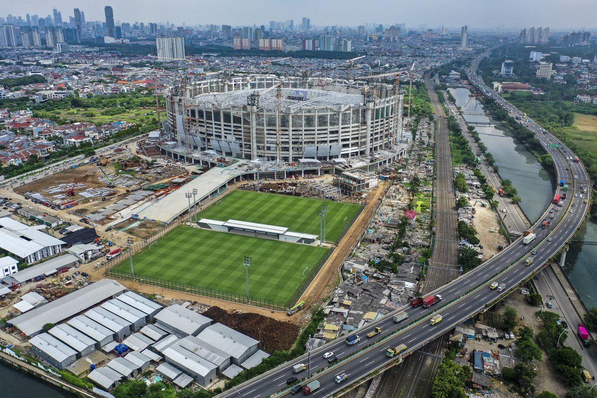 "Intip ""Jakarta Internasional Stadium"" atau JIS 9"