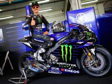Dua Pembalap Tim Monster Energy Yamaha MotoGP 2021 10